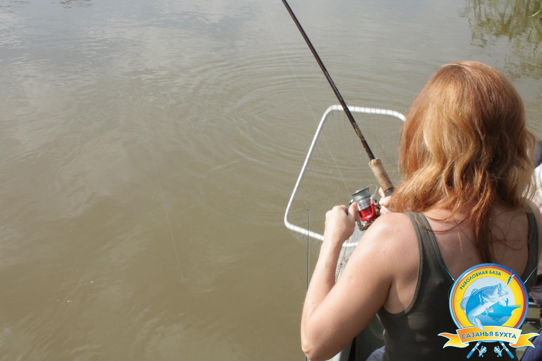 Рыболовная база колосистый