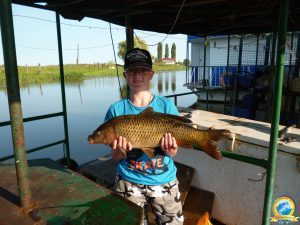 Наши юные рыбаки всегда с хорошим уловом!