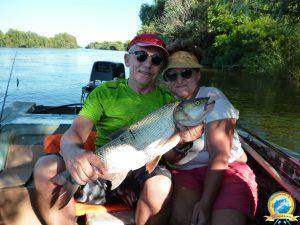 Хороший улов - счастливые рыбаки