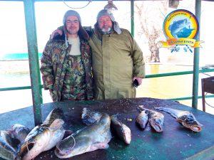 Хороший день начинается с удачной рыбалки