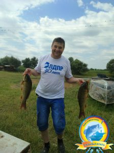 Река. Рыбалка. Лето.